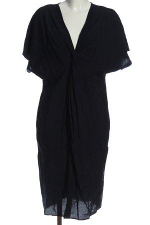 Mango Suit Kurzarmkleid schwarz Casual-Look