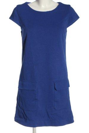 Mango Suit Kurzarmkleid blau Casual-Look