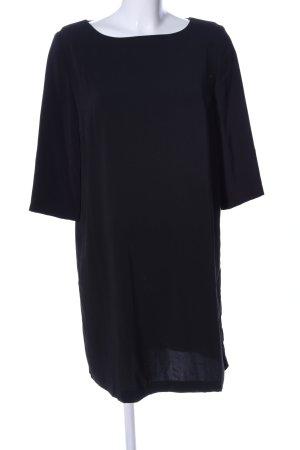 Mango Suit Kurzarmkleid schwarz Business-Look