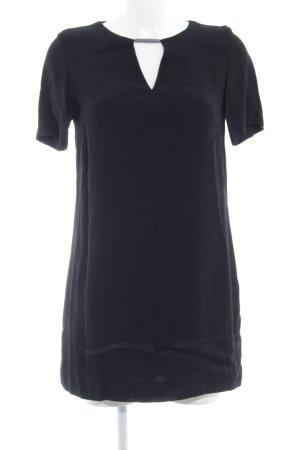 Mango Suit Kurzarmkleid schwarz Elegant