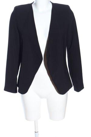 Mango Suit Kurzjacke schwarz Business-Look