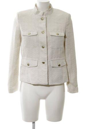 Mango Suit Kurzjacke weiß klassischer Stil