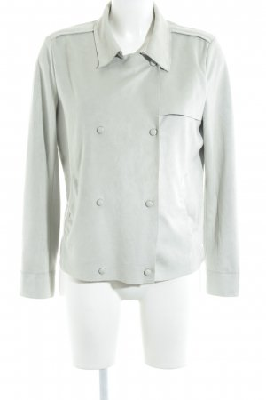 Mango Suit Kurzjacke graugrün Casual-Look