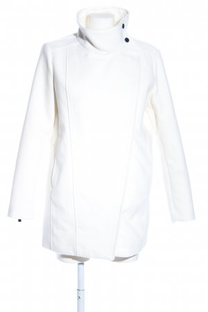 Mango Suit Korte Jas wit casual uitstraling