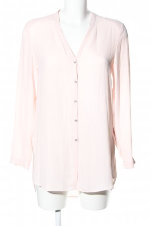 Mango Suit Langarm-Bluse creme Business-Look