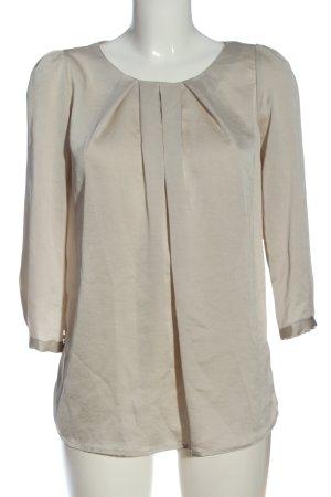 Mango Suit Langarm-Bluse nude Casual-Look