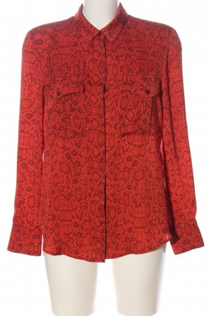 Mango Suit Long Sleeve Shirt red-black allover print casual look