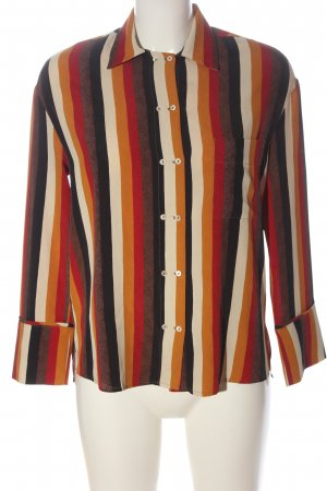 Mango Suit Long Sleeve Shirt striped pattern casual look