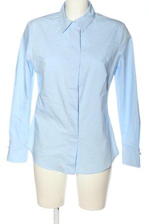Mango Suit Long Sleeve Shirt blue business style