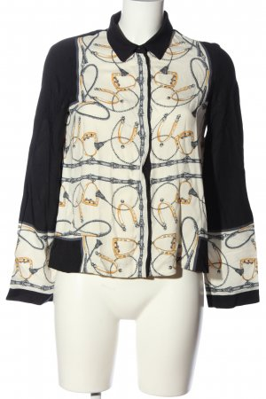 Mango Suit Long Sleeve Shirt allover print casual look