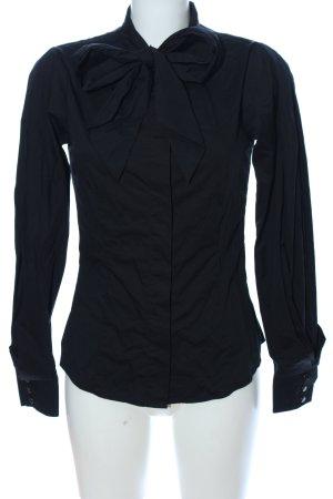 Mango Suit Long Sleeve Shirt black elegant