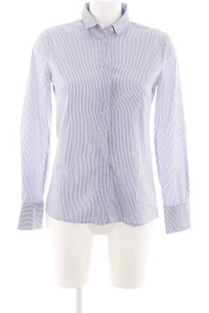 Mango Suit Long Sleeve Shirt white-light grey striped pattern business style