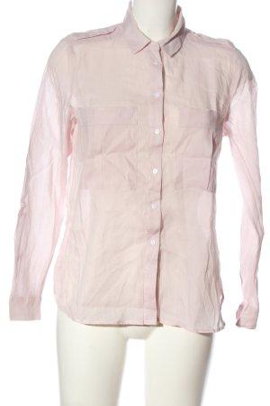 Mango Suit Long Sleeve Shirt pink casual look