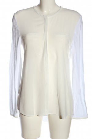 Mango Suit Long Sleeve Shirt white casual look
