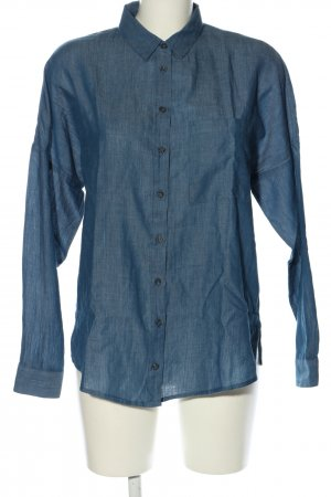 Mango Suit Long Sleeve Shirt blue casual look