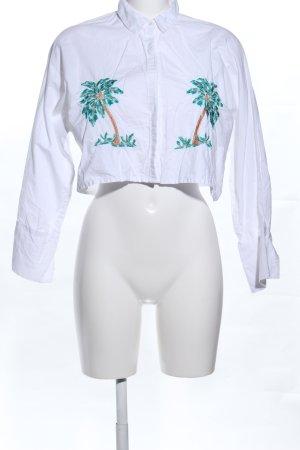 Mango Suit Camicia a maniche lunghe Stampa a tema stile professionale