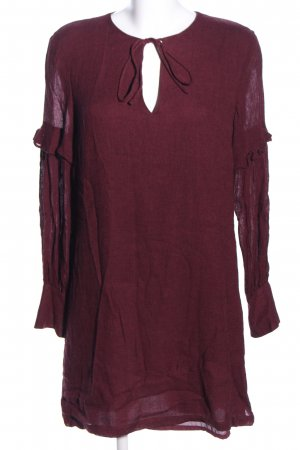 Mango Suit Langarmkleid rot Casual-Look
