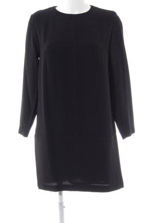 Mango Suit Langarmkleid schwarz Casual-Look
