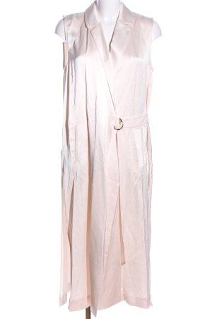 Mango Suit Lange Jacke creme Elegant