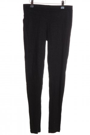 Mango Suit Leggings schwarz meliert Casual-Look