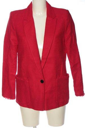 Mango Suit Long-Blazer rot Casual-Look