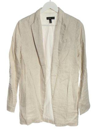 Mango Suit Long-Blazer wollweiß Elegant