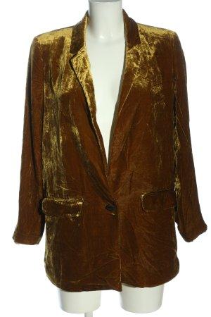 Mango Suit Lange blazer licht Oranje kleurverloop elegant