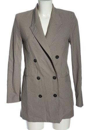 Mango Suit Long-Blazer Karomuster Casual-Look