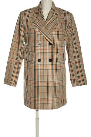 Mango Suit Long-Blazer Karomuster Business-Look