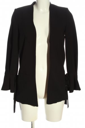 Mango Suit Long-Blazer schwarz Casual-Look