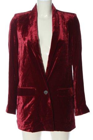Mango Suit Blazer lungo rosso stile professionale