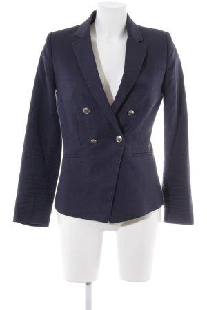 Mango Suit Long-Blazer dunkelblau Elegant