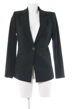 Mango Suit Long-Blazer dunkelgrün Casual-Look