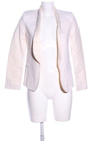 Mango Suit Long-Blazer creme Business-Look