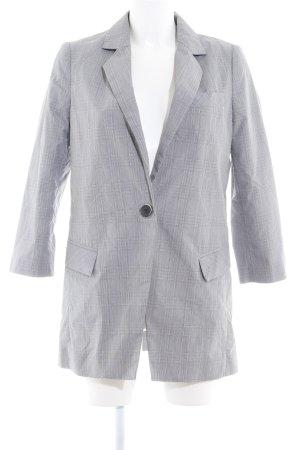 Mango Suit Long-Blazer grau