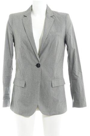 Mango Suit Long-Blazer hellgrau Business-Look