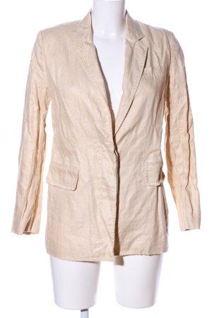 Mango Suit Long-Blazer wollweiß Casual-Look