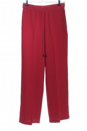 Mango Suit Marlenehose rot Casual-Look