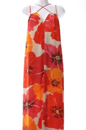Mango Suit Maxikleid Allover-Druck Casual-Look