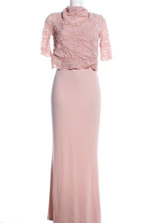 Mango Suit Maxikleid pink Elegant