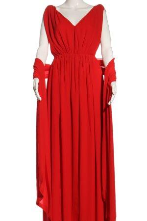 Mango Suit Maxikleid rot Elegant