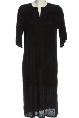 Mango Suit Midikleid schwarz Casual-Look