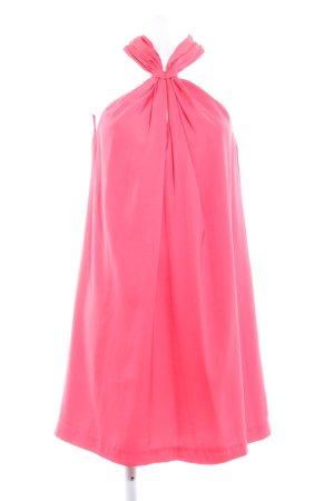 Mango Suit Midikleid neonpink Party-Look