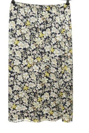 Mango Suit Midirock Blumenmuster Casual-Look