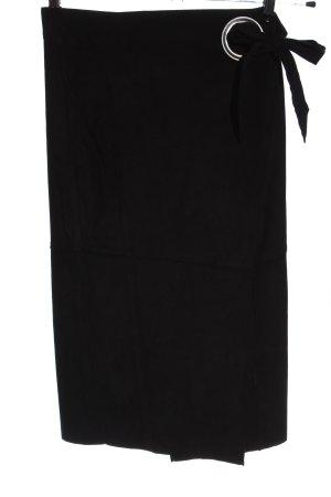 Mango Suit Spódnica midi czarny W stylu biznesowym