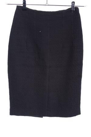 Mango Suit Midirock schwarz Business-Look