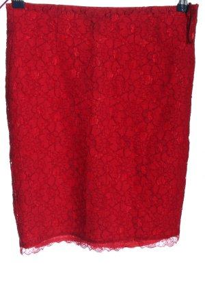 Mango Suit Minirock rot Casual-Look