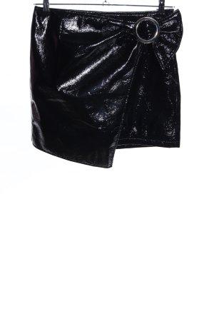 Mango Suit Minirock schwarz Casual-Look
