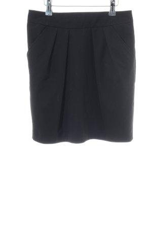 Mango Suit Minirock schwarz Business-Look