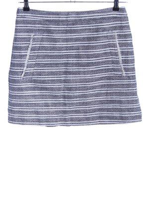 Mango Suit Minirock hellgrau-weiß meliert Casual-Look